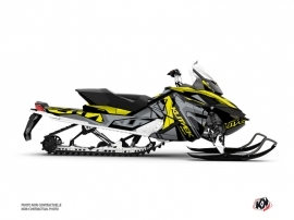 Skidoo REV XP Snowmobile Klimb Graphic Kit Yellow
