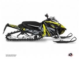 Yamaha Sidewinder Snowmobile Klimb Graphic Kit Yellow