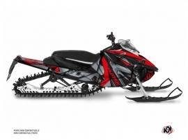 Yamaha Sidewinder Snowmobile Klimb Graphic Kit Red