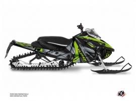 Kit Déco Motoneige Klimb Yamaha Sidewinder Vert