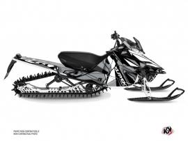 Yamaha SR Viper Snowmobile Klimb Graphic Kit White