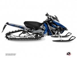 Kit Déco Motoneige Klimb Yamaha SR Viper Bleu