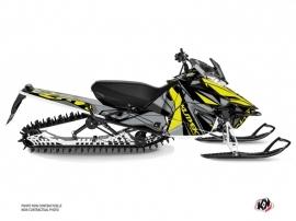 Yamaha SR Viper Snowmobile Klimb Graphic Kit Yellow