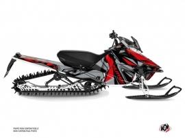 Yamaha SR Viper Snowmobile Klimb Graphic Kit Red