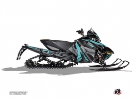 Arctic Cat Thundercat Snowmobile Klimb Graphic Kit Cyan