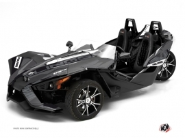 Kit Déco Hybride Knight Polaris Slingshot Noir