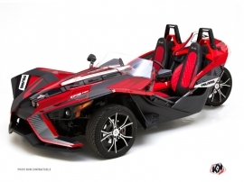 Kit Déco Hybride Knight Polaris Slingshot Rouge