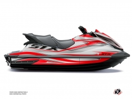 Kawasaki STX 160 Jet-Ski Koast Graphic Kit Grey
