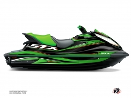 Kawasaki STX 160 Jet-Ski Koast Graphic Kit Green