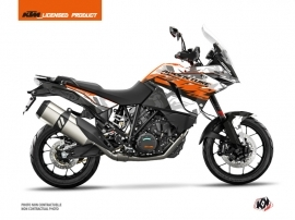 KTM 1090 Adventure Street Bike Kombat Graphic Kit Grey Orange