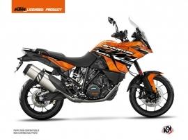 KTM 1090 Adventure Street Bike Kombat Graphic Kit Orange