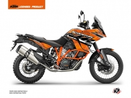 KTM 1190 Adventure R Street Bike Kombat Graphic Kit Orange