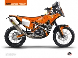 KTM 450 RFR Injection Street Bike Kombat Graphic Kit Orange