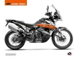 KTM 790 Adventure Street Bike Kombat Graphic Kit Grey Orange