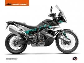 Kit Déco Moto Kontrol KTM 790 Adventure Vert Blanc