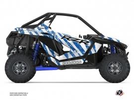 Polaris RZR PRO XP UTV Krack Graphic Kit Blue