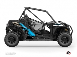 Can Am Maverick Trail UTV Kraft Graphic Kit White Blue
