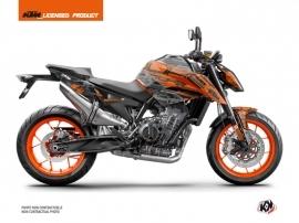 Kit Déco Moto Krav KTM Duke 790 Orange Noir