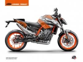 KTM Duke 890 R Street Bike Krav Graphic Kit Black Orange