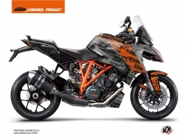 KTM Super Duke 1290 GT Street Bike Krav Graphic Kit Orange Black