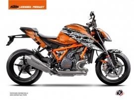 KTM Super Duke 1290 R Street Bike Krav Graphic Kit Black Orange