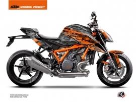 KTM Super Duke 1290 R Street Bike Krav Graphic Kit Orange Black