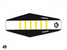 Seat Cover Kutvek Husqvarna 125-250-300 TE 2017 Black Yellow