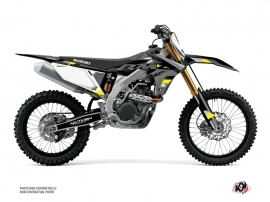 Kit Déco Moto Cross Label Suzuki 250 RMZ Gris