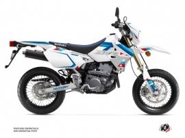 Suzuki DRZ 400 SM Street Bike Label Graphic Kit White