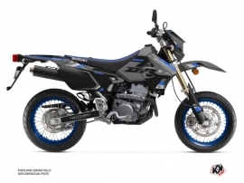 Kit Déco Moto Label Suzuki DRZ 400 SM Gris Bleu