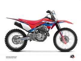 Kit Déco Moto Cross League Honda 250F CRF Rouge