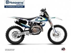 Husqvarna FC 250 Dirt Bike Legacy Graphic Kit Blue Yellow