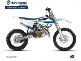 Husqvarna TC 85 Dirt Bike Legacy Graphic Kit Blue