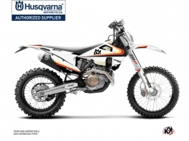 Husqvarna 250 TE Dirt Bike Legacy Graphic Kit Black Yellow
