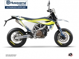 Husqvarna 701 Supermoto Street Bike Legend Graphic Kit Blue