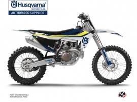 Husqvarna FC 250 Dirt Bike Legend Graphic Kit Blue