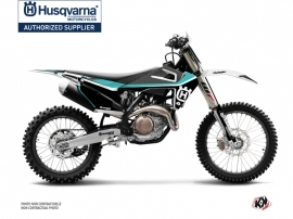 Husqvarna FC 250 Dirt Bike Legend Graphic Kit Turquoise