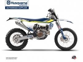 Husqvarna 250 FE Dirt Bike Legend Graphic Kit Blue