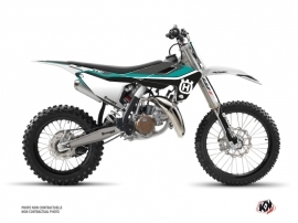 Husqvarna TC 85 Dirt Bike Legend Graphic Kit Turquoise