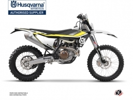 Husqvarna 125 TE Dirt Bike Legend Graphic Kit Black