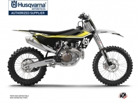 Husqvarna FC 250 Dirt Bike Legend Graphic Kit Black