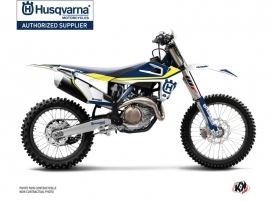 Kit Déco Moto Cross Legend Husqvarna FC 450 Bleu