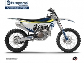 Husqvarna TC 250 Dirt Bike Legend Graphic Kit Blue
