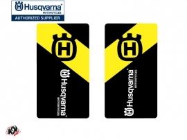 Graphic Kit Fork protection stickers Legend Dirt Bike Husqvarna TC-FC TE-FE Black