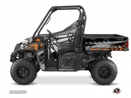 Polaris Ranger 570 FULL UTV Lifter Graphic Kit Orange
