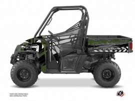 Polaris Ranger 570 FULL UTV Lifter Graphic Kit Green