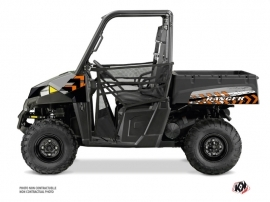 Polaris Ranger 570 UTV Lifter Graphic Kit Orange