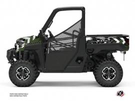 Polaris Ranger Diesel UTV Lifter Graphic Kit Green