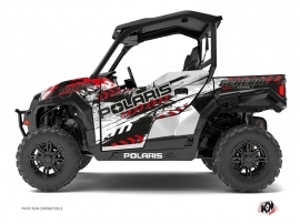 Polaris GENERAL 1000 UTV Lifter Graphic Kit Red White