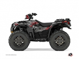 Polaris 1000 Sportsman XP Forest ATV Lifter Graphic Kit Red